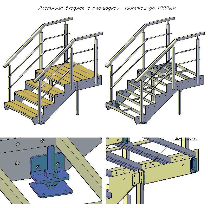 Лестница железная своими руками пошаговая инструкция